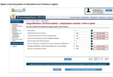 Modello 730 precompilato dal contribuente: istruzioni operative