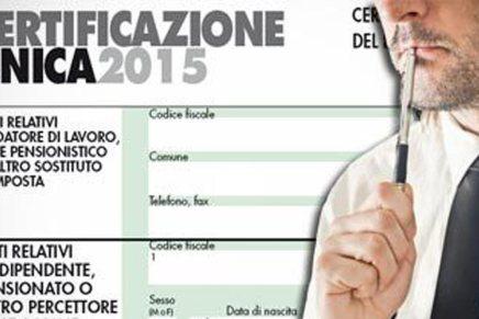 Addio CUD, ecco la nuova Certificazione dei redditi CU 2015. Il modello