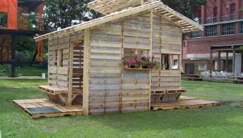 Pallet house: come costruire una casa economica ed ecologica