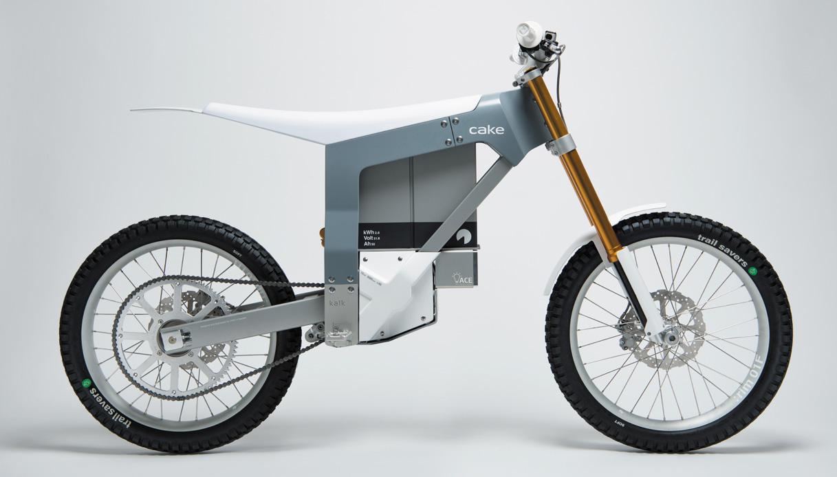 Cake Kalk, la moto da enduro elettrica che sembra una bici