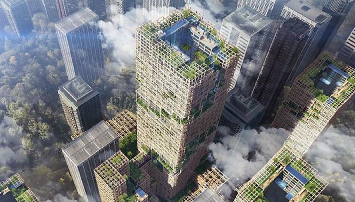 Bosco Verticale Appartamenti Costo un bosco verticale di 70 piani. succede a tokyo   quifinanza