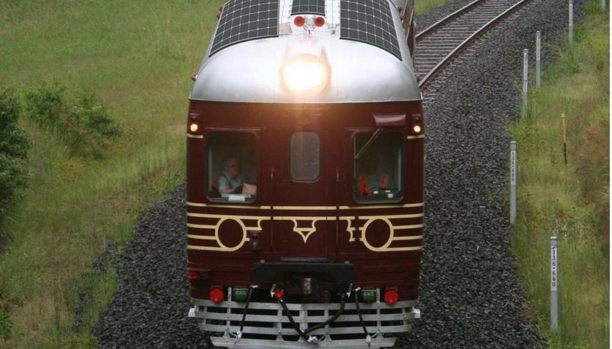 Treno ecologico australiano