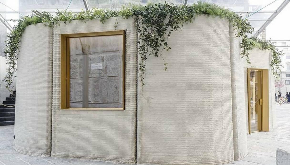 A Milano la prima casa d'Europa stampata in 3D