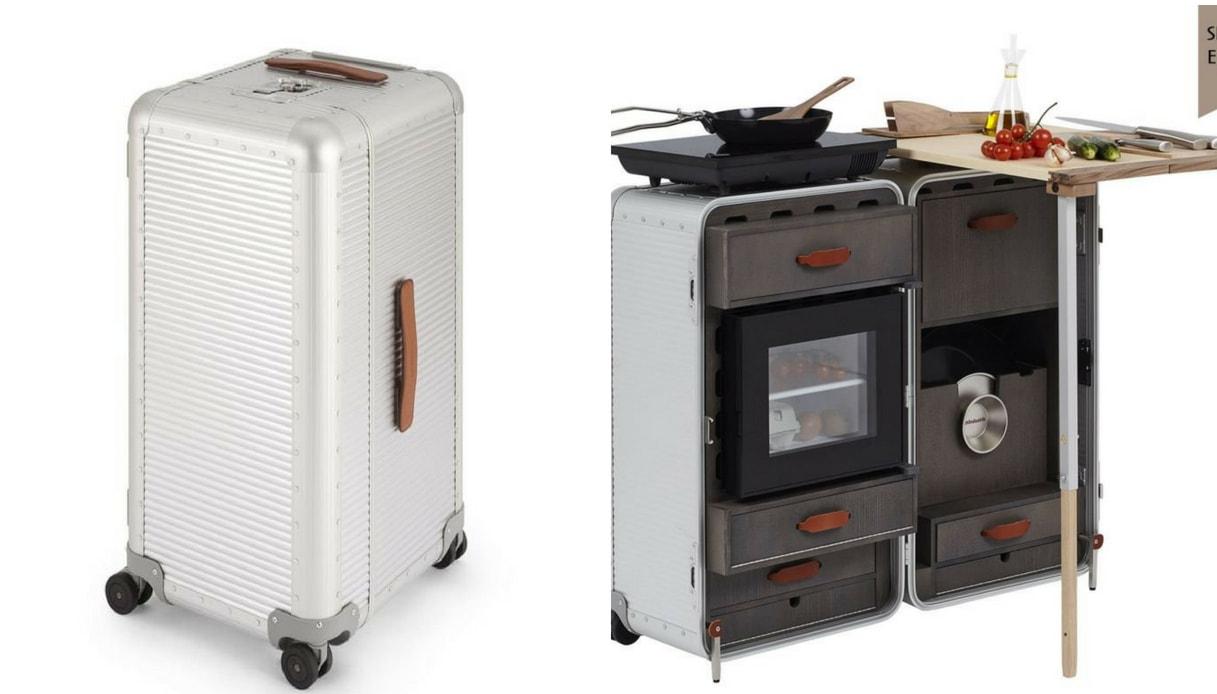 Cucina (eco) in valigia