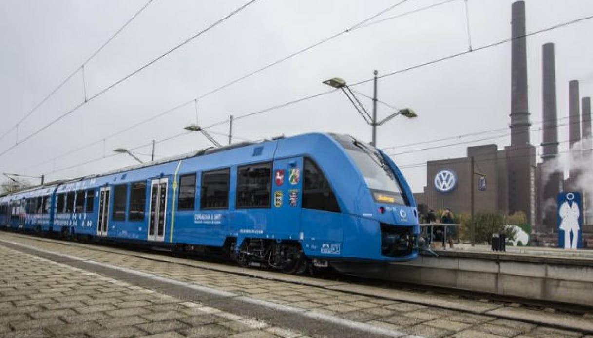 Treni a idrogeno in Germania
