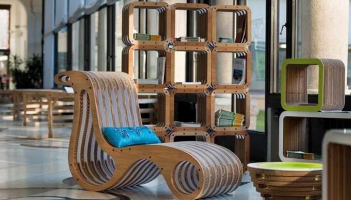 Mobili In Cartone Design.Il Design In Cartone Che Fa Tendenza E Piace All Ambiente Quifinanza