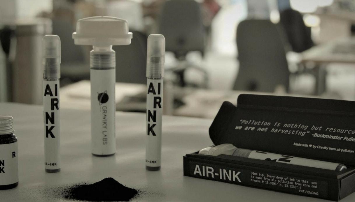 Air Ink, dall'India l'inchiostro dall'inquinamento