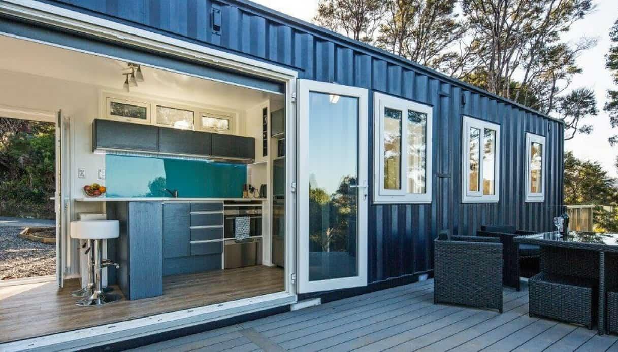 HiveCube, la casa ecologica dal container