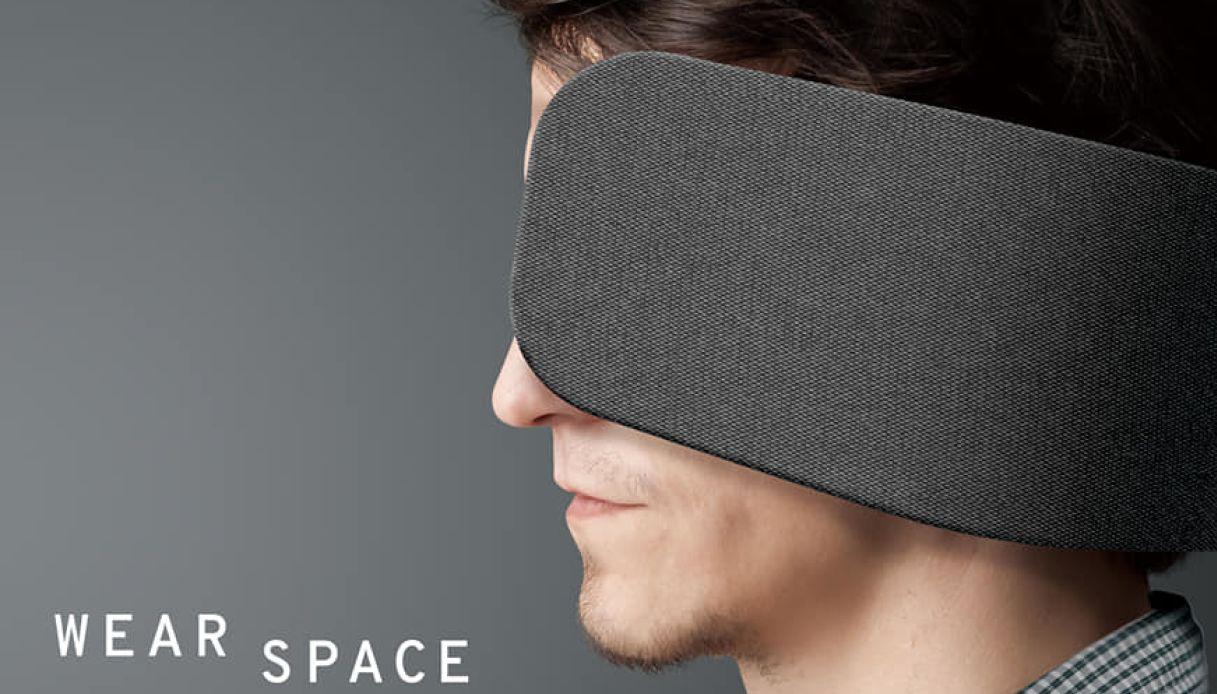 paraocchi per openspace, wear space panasonic