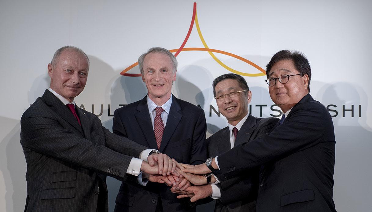 Alleanza Renault-Nissan-Mitsubishi
