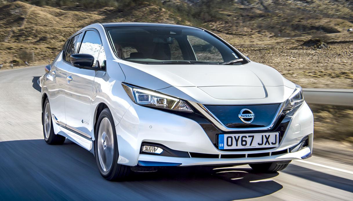 Nissan Leaf, ibrida plug-in