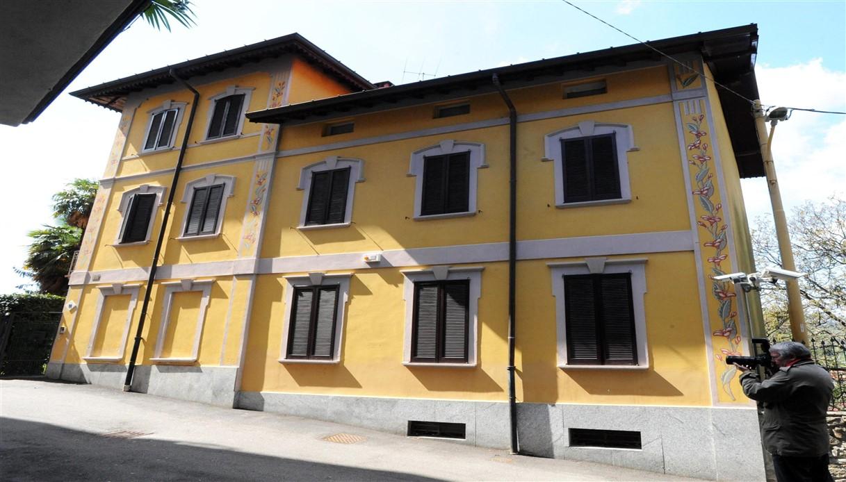 La villa di Umberto Bossi a Gemonio