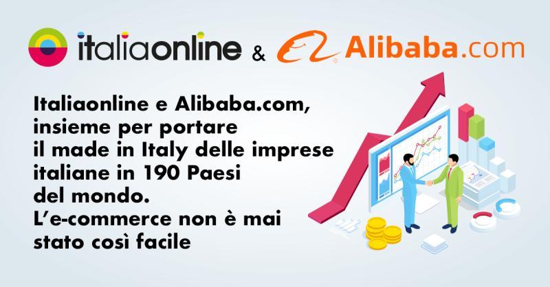 Italiaonline e Alibaba insieme per portare il made in italy delle imprese italiane in 190 Paesi del mondo
