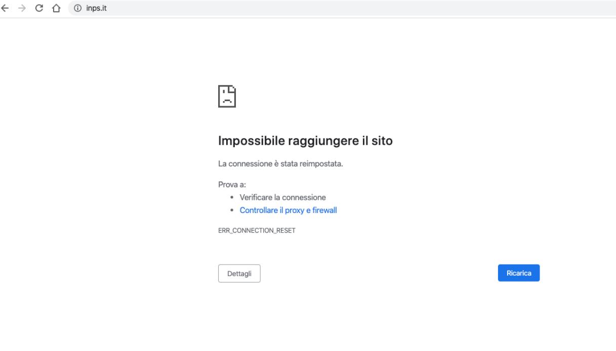 sito inps bonus 600 euro