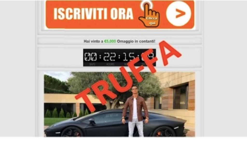 truffa ronaldo