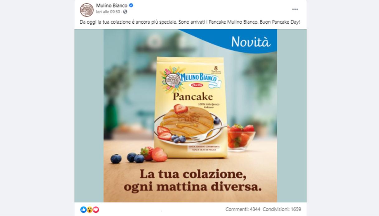 A ruba i pancake Mulino Bianco pronti all'uso: quanto costano