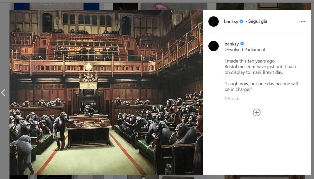 Devolved Parliament, Banksy