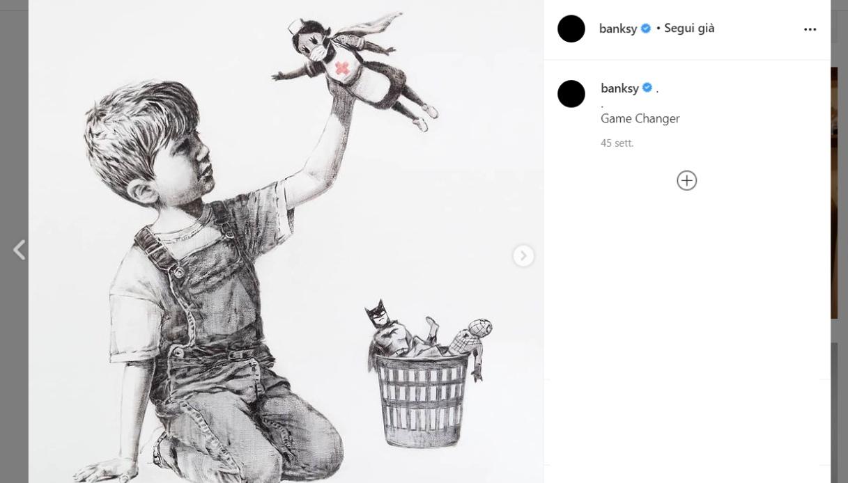 Game Changer, Banksy