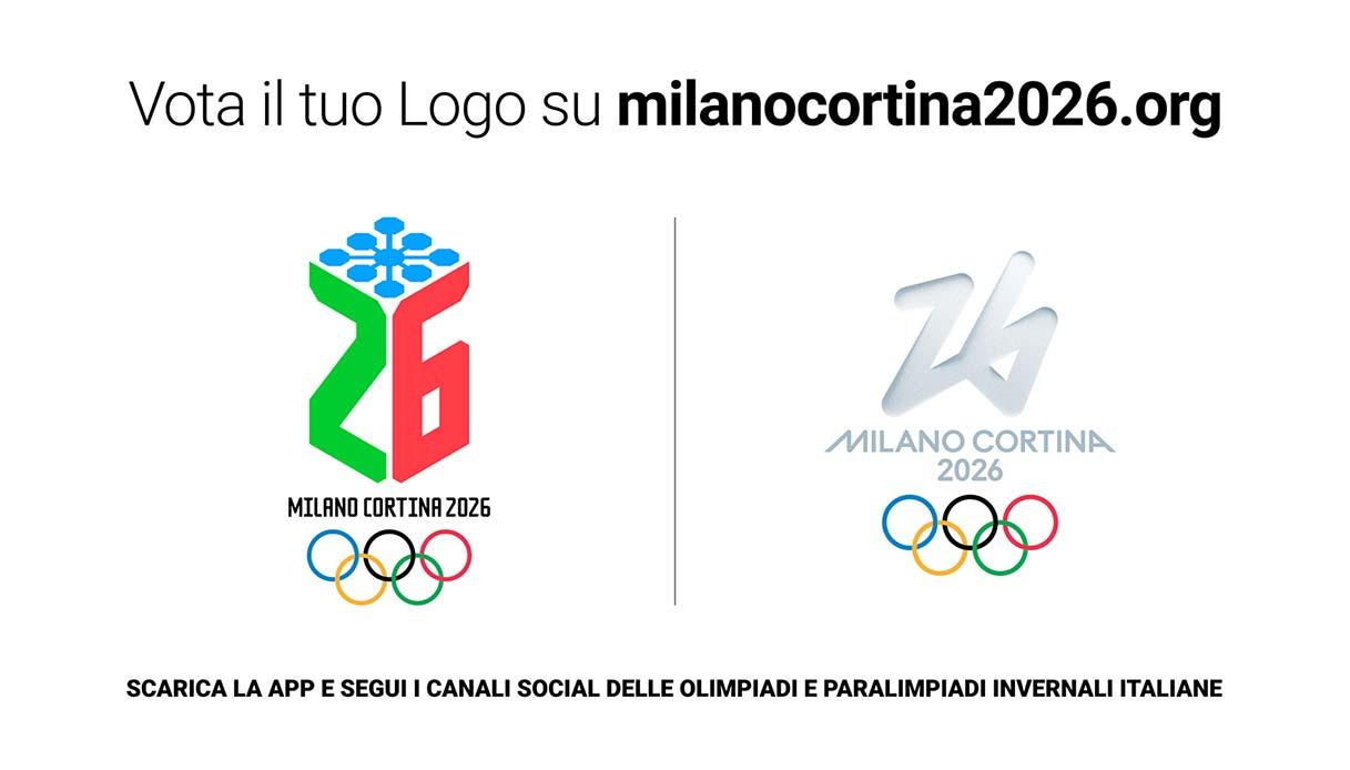 Olimpiadi invernali 2026, arriva il sondaggio per i loghi: come e dove si vota