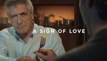 """""""Un gesto d'amore"""", la nuova campagna di Barilla per comunicare oltre le parole"""